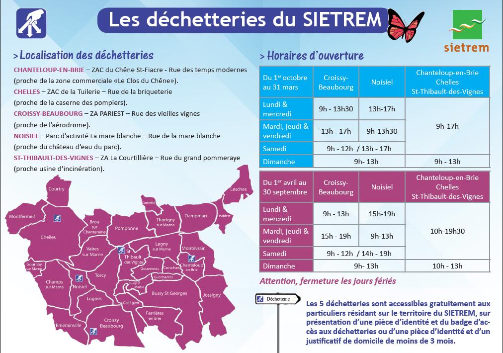 Calendrier Encombrants 77.Lagny Sur Marne Gestion Des Dechets