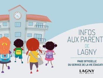 Infos aux parents de Lagny