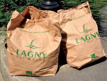 Sacs des déchets verts - Retrait