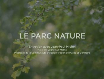 Ouverture du Parc Nature -Interview Jean-Paul Michel