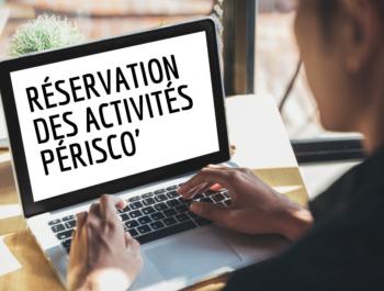 Réservation des activités périscolaires